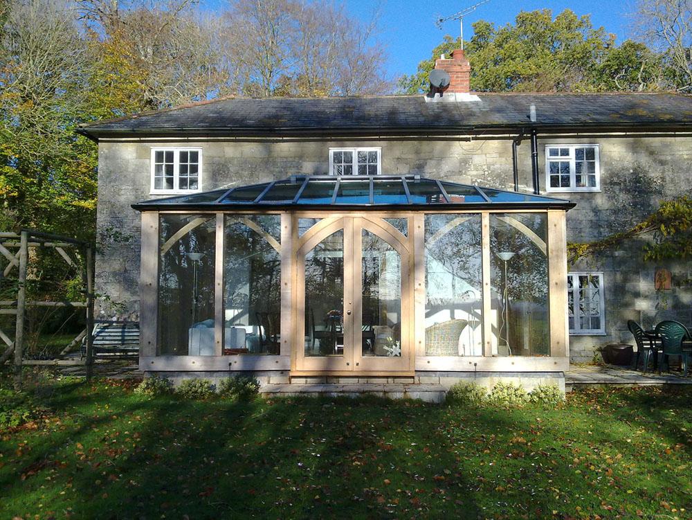 Traditional Oak Frame Conservatory