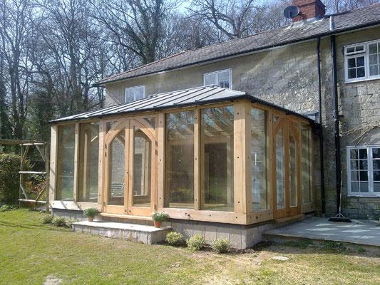 Bespoke oak building company in Wiltshire